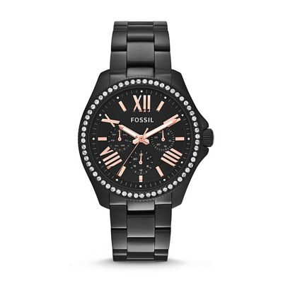 Cecile Multifunction Watch - Black